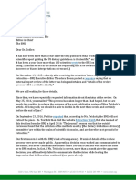 Michael Jacobson & Bonnie Liebman (Center for Science in the Public Interest) 11/4/16 letter to BMJ editor Fiona Godlee demanding status of their organization's (failed) attempt to retract author/journalist Nina Teicholz's critique of US dietary guidelines