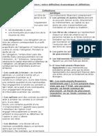 Finance Du Marché