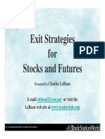 Charles LeBeau - Exit Strategies for Stock and Futures
