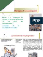 Thème 1  - revenu et consommationl.ppt