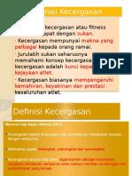GKK Presentation (Definisi Kecergasan)
