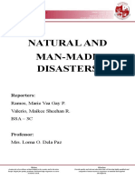 Natural and Man-made Disasters ( Macroeconomics)