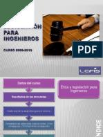 Etica y legislacion Ingenieros