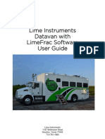 Lime Datavan Manual Update 092213