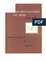 Pleiner 1989 Archaeometallurgy of Iron 1967-1987