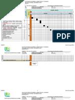 Diagrama de Gantt 17-1 Agregados Económicos