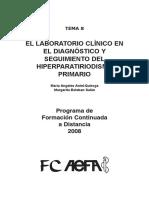 El Laboratorio Clínico en El Diagnóstico y Seguimiento Del Hiperparatiriodismo Primario