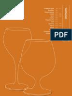 Cristalería. Catálogo Profesional de Hostelería 09/10. Grupo CRISOL.