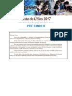 Pre Kinder 2017