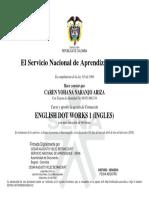 Diploma Ingles i