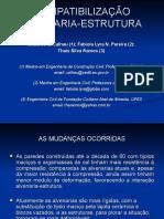 Compatibilização Alvenaria-Estrutura