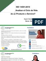 5 Keyla Soteldo y Myriam Mutis Ciclo de Vida ISO 14001