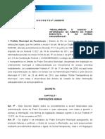 Decreto Acesso a Informação Porciuncula Revisado 1.633-2015