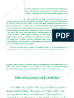 Croc Reports