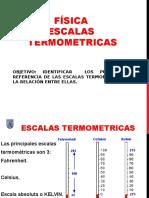 Física Escalas Termométricas 8vo