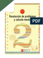 Resolución de Problemas y Calculo Mental 2