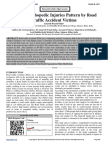 Study of Orthopedic Injuries Pattern by Road Traffic Accident Victims