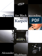 Khalifman Alexander-Opening for Black According to Karpov Book 1.pdf