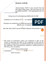 Methods Anticancer