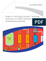 Technology Assessment of a Molten Salt Reactor Design - The LFTR