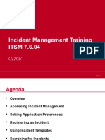 Incident Management Service Desk