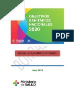 Objetivos Sanitarios Nacionales FINAL 1º de julio +cambios