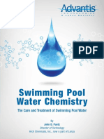 Advantis Pool Chemistry Book - EnGLISH