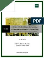 Guia II Alteraciones Del Desarrollo y Diversidad Funcional