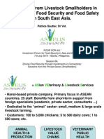 Contribution from Livestock Smallholders in the Upgrade of Food Security and Food Safety in South East Asia