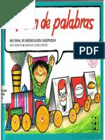 Monfort Marc - El Tren de Las Palabras - Material de Reeducacion Logopedica