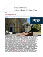 Perspectives From Pope St. John Paul II