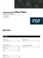 Effect Rack Manual
