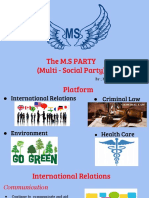 civics 17 - poltical party