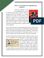43815832 Resumen de La Obra Las Catilinarias de Juan Montalvo