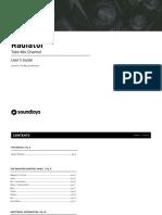 Radiator Manual
