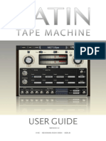 Satin User Guide