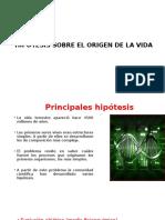 2.-Hipótesis Sobre El Origen de La Vida 2