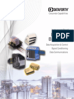 Dataforth Corp Brochure