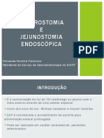 Gastrostomia e Jejunostomia Endoscpica