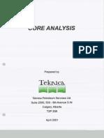 Teknica, Core Analysis, 2001