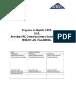 Programa SSO ARC Ltda 2013