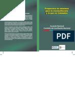 Propuestas de Mínimos Para La Reconciliación y La Paz en Colombia - UNIDO