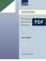 Adb Wp011 Assar Lindbeck - The European Social Model