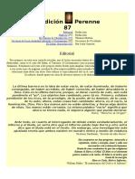 Revista Tradición Perenne 87