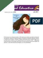 boletin 8 de marzo Movimiento Magisterial Dignidad Educativa.pdf