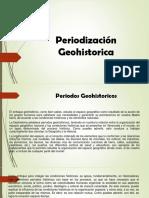 Periodización Geohistorica