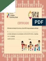 certificados CIBV