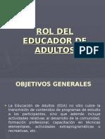 Rol Del Educador de Adultos