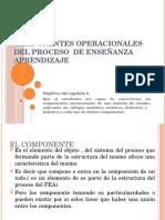 COMPONENTES OPERACIONALES DEL PROCESO  DE ENSEÑANZA APRENDIZAJE.pptx