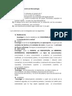 Trabajos de Investigación en Gnoseología